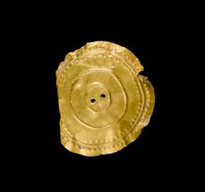 Early Bronze Age gold disc