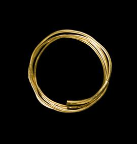 Middle Bronze Agegold bar torc