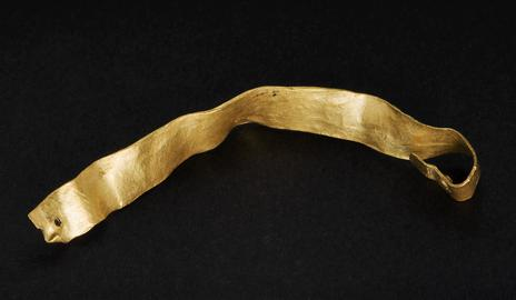 Middle Bronze Age gold strip