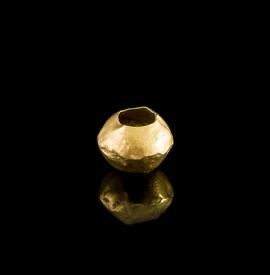 Middle Bronze Age  - gold biconical bead