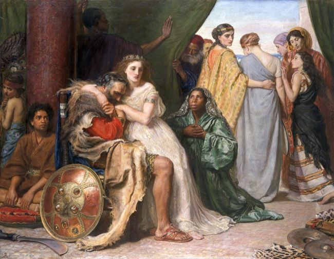 Millais, Sir John Everett. Jephthah. (1867)