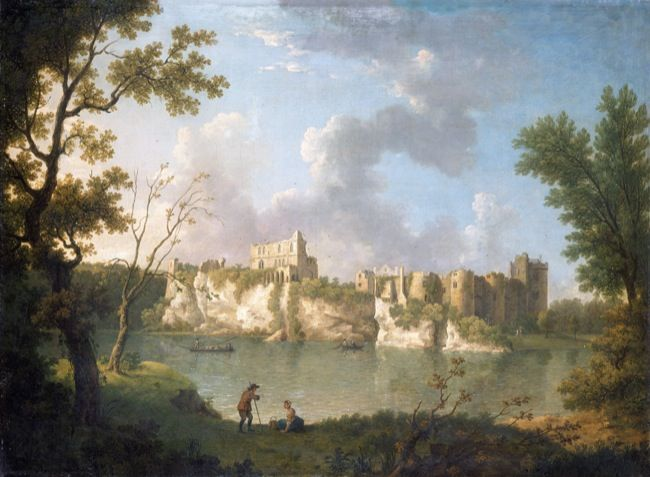 Richards, John Inigo. Castell Cas-gwent. (18th century)