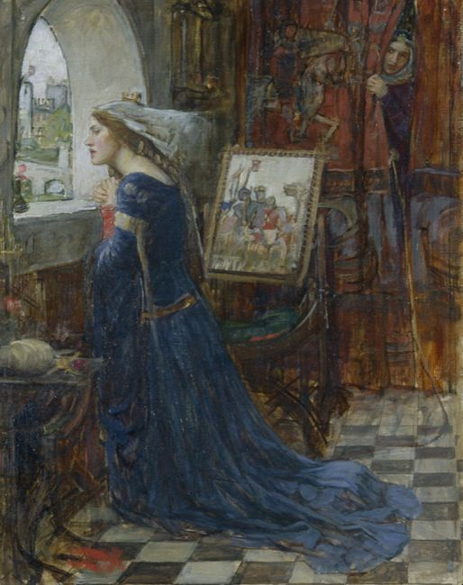 Waterhouse, John William. Rosamund Deg. (1916)