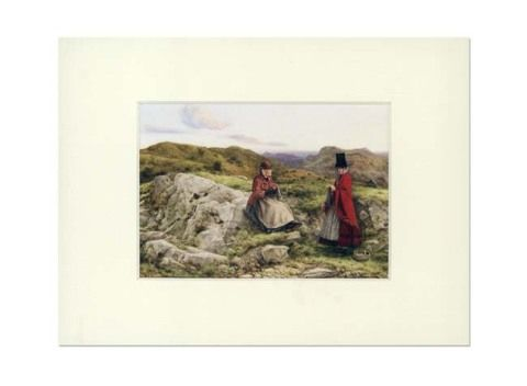 William Dyce Mounted Print