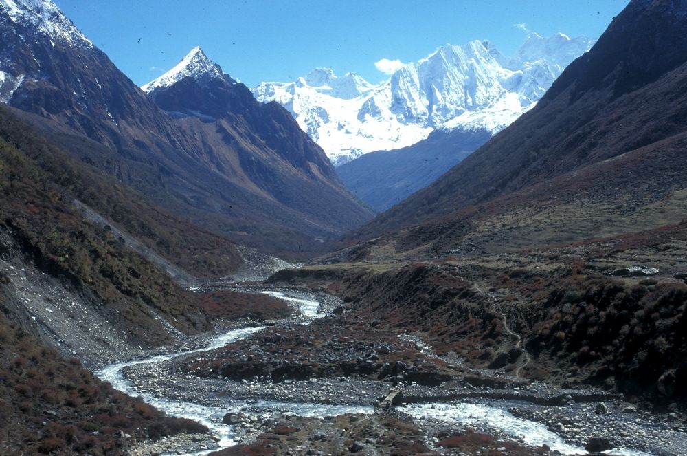 Manaslu area of Nepal