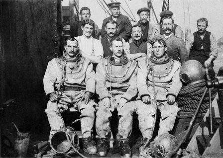 Photograph of Divers