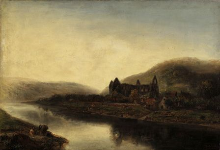 Tintern Abbey (oil on canvas)
