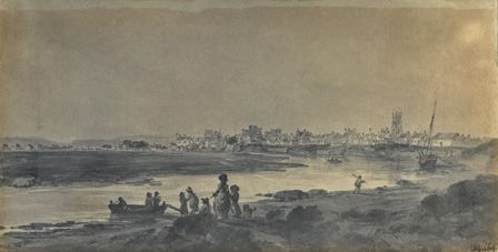 Cardiff from the South (engraving)