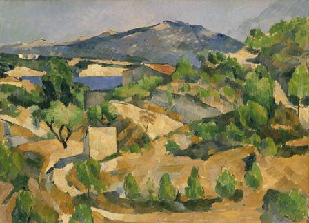 Mountains in Provence (L'Estaque) c.1879 (oil on canvas)