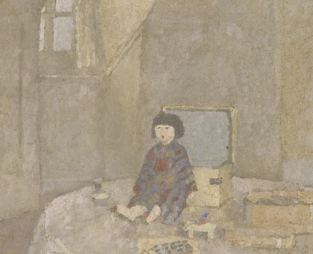 The Japenese Doll, 1920s (oil on canvas)