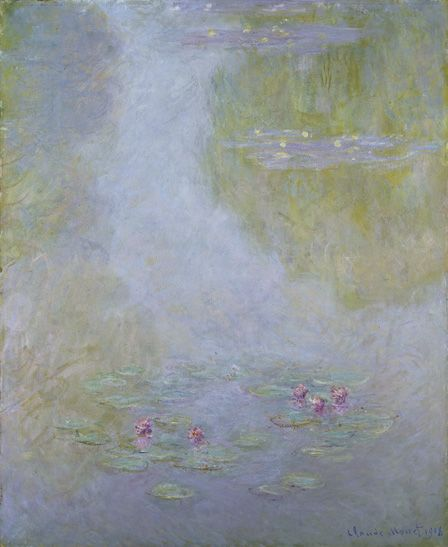 Waterlilies, 1908 (oil on canvas)