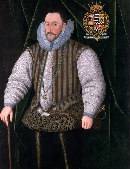 Henry Herbert (c.1531-1604) 2nd Earl of Pembroke, c.1590 (oil on canvas)