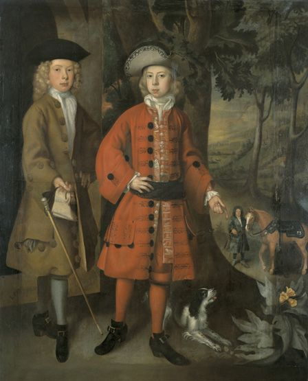 Sir Charles Kemeys, possibly with William Morgan (oil on paper)