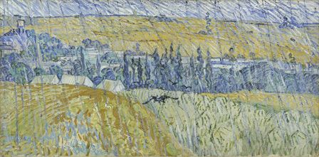 Rain-Auvers 1890 (oil on canvas)