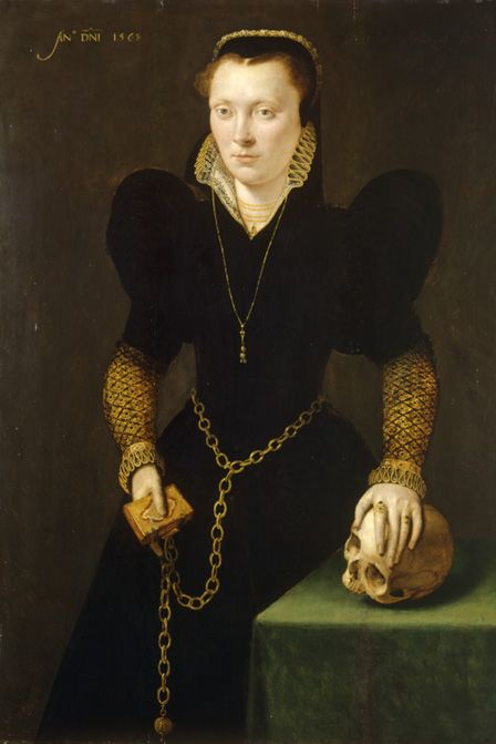 Katheryn of Berain (1535-91) 1568 (oil on panel)