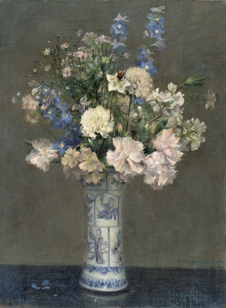 Flower Piece, 1906 (oil on canvas)