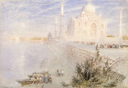 Taj Mahal, 1896 (w/c on paper)
