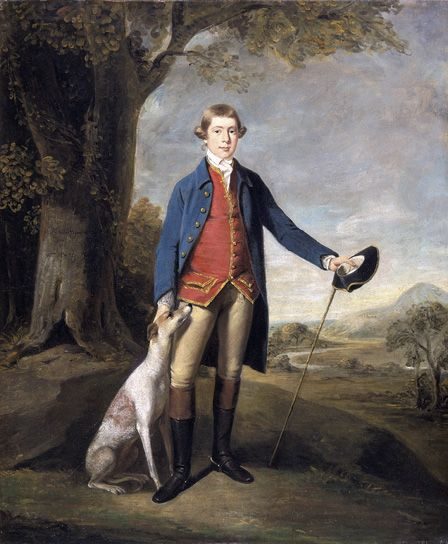 Watkin E Wynne, 1770 (Oil on canvas)
