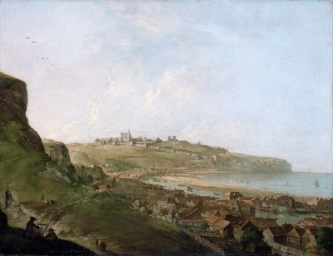 Dover Castle (oil on canvas)