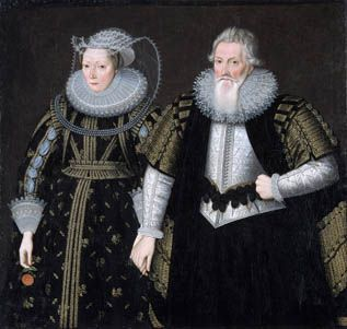 Sir Thomas Mansel (1556-1631) and Jane, (Pole) Lady Mansel
