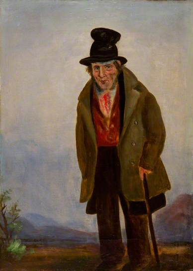W J Chapman (c.1835-40), Thomas Euston, Lodge Keeper, Hirwaun