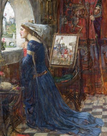 Fair Rosamund - John William Waterhouse (1916)