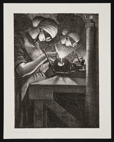 Weldiwr Asetylen - Christopher Richard Wynne Nevinson