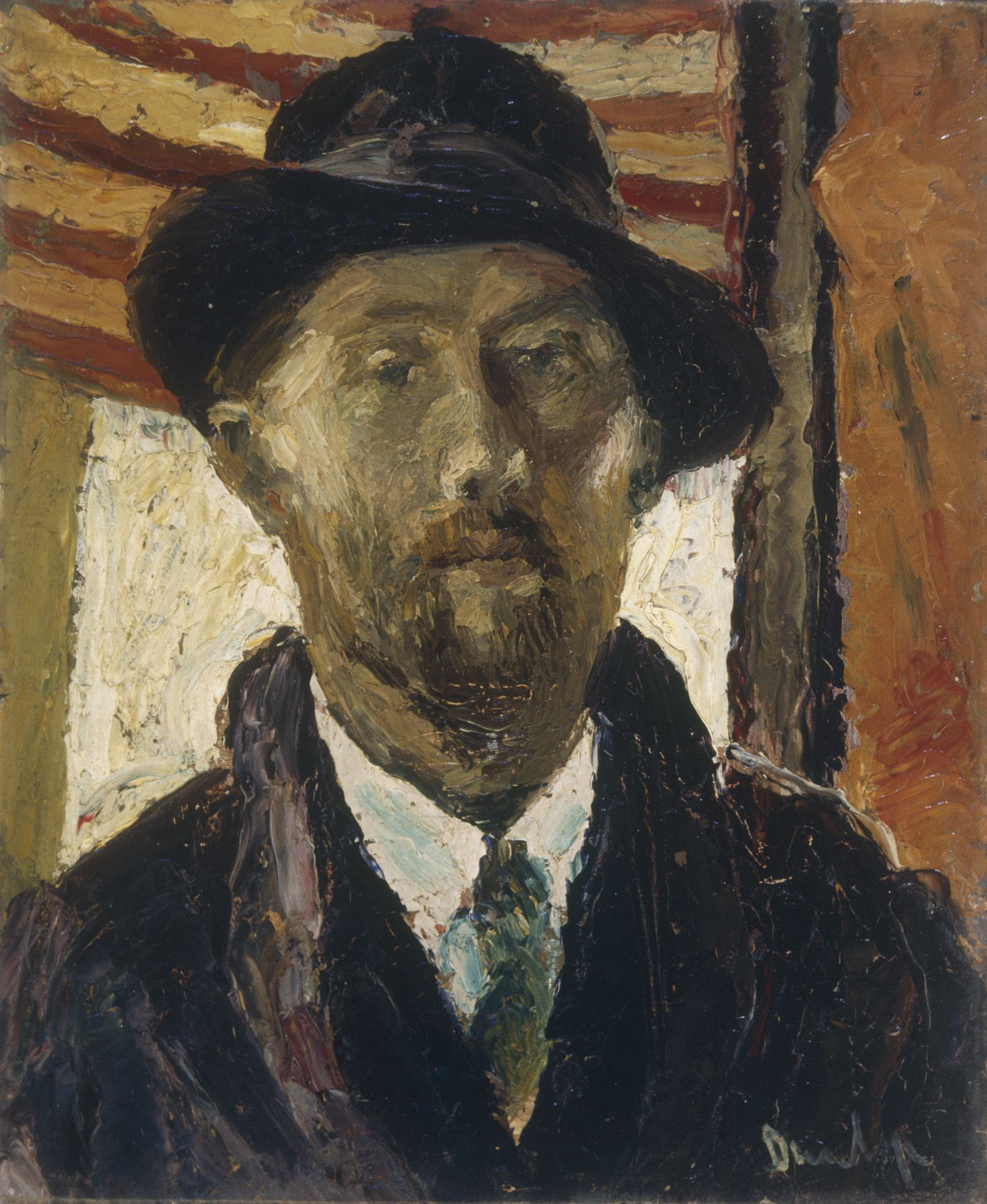 Portrait of a Man by Dunlop