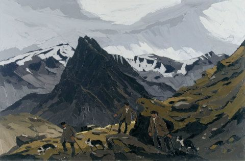 Llun gan Kyffin Williams
