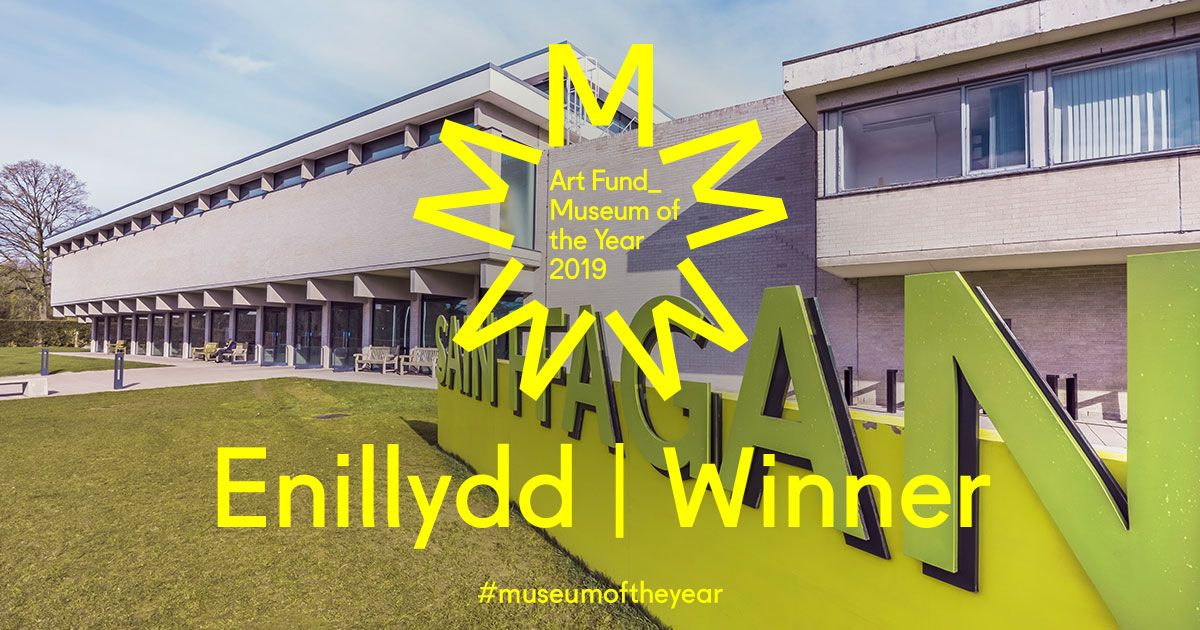 ArtFund Museum of the Year 2019 Ar y rhestr fer