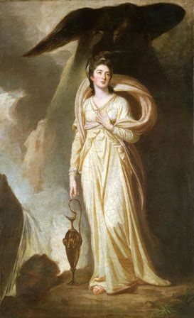 Elizabeth (Warren), Is-iarlles Bulkeley (1757-1826) fel Hebe