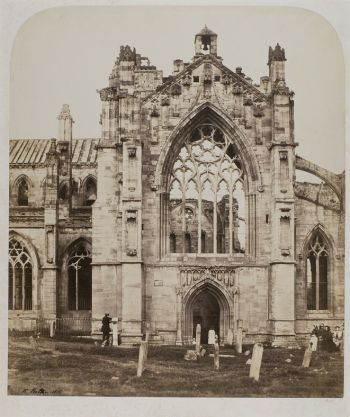 Ffoto o Melrose Abbey